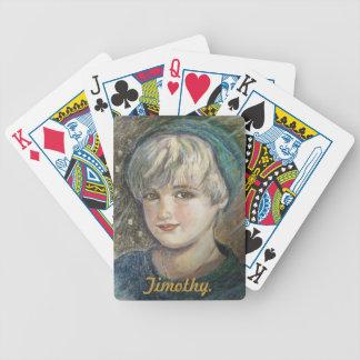 Yumi Sugai.Timothy. Bicycle Playing Cards