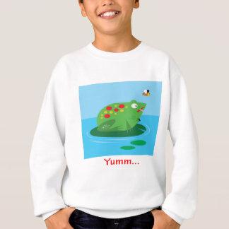 Yumm Frog Design Sweatshirt