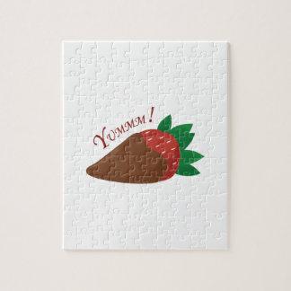 Yummm! Strawberry Jigsaw Puzzle