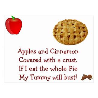 Yummy 4 My Tummy - Designer Postcard