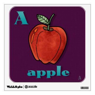 Yummy Alphabet - A Wall Decal