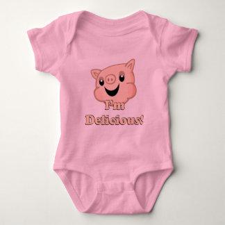 Yummy Bacon Baby Bodysuit