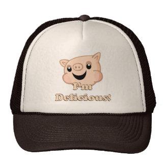 Yummy Bacon Mesh Hat