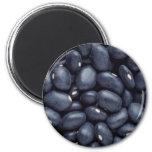 Yummy Black beans Refrigerator Magnets