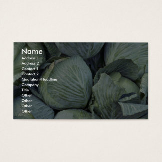 Yummy Cabbage Business Card