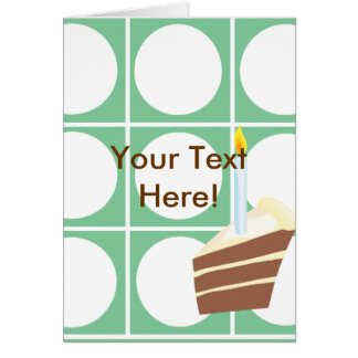 Yummy Cake Custom Party Pack Card