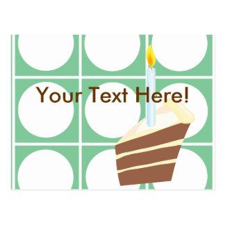 Yummy Cake Custom Party Pack Postcard