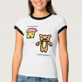 Yummy Cake & Nommy Bear T-Shirt