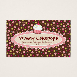 Yummy Cakepops Business Cards