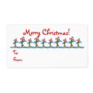 Yummy Candy Cane Lane Christmas Gift Tags - Shippi