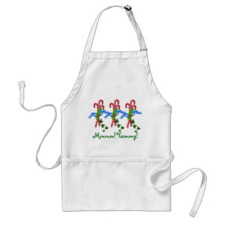 Yummy Candy Canes Christmas Apron