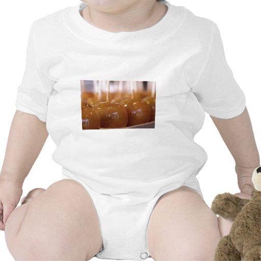 Yummy Carmel Apples Baby Bodysuit