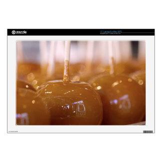 Yummy Carmel Apples Laptop Skins