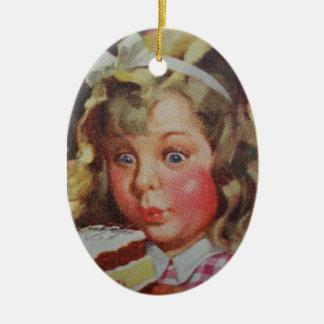 Yummy Ceramic Ornament