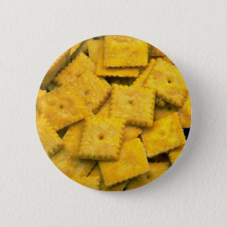 Yummy Cheese crackers Pinback Button