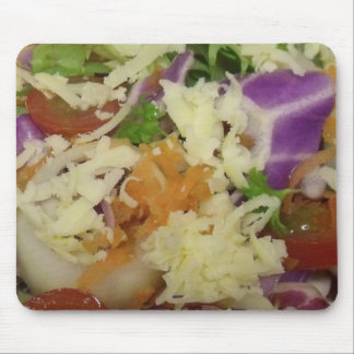 Yummy Cheese Salad Mouse Pad