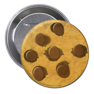 Yummy Chocolate Chip Cookie Button