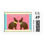 Yummy Chocolate Easter Bunnies Stamp