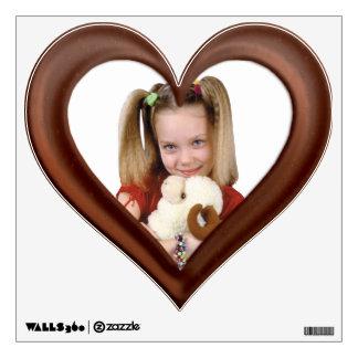 Yummy Chocolate Photo Border - Customize Wall Sticker