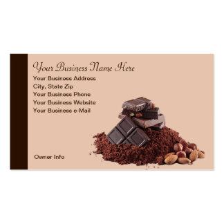 Yummy Chocolate Theme Professional Business Card