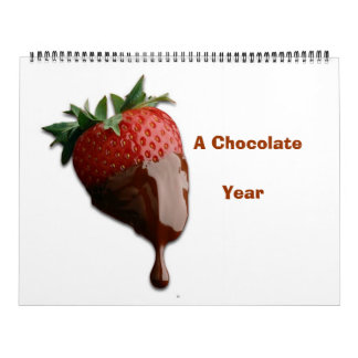 YUMMY CHOCOLATE  YEAR CALENDA CALENDAR