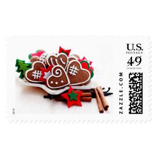 Yummy Christmas Cookies Postage Stamp