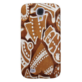 Yummy Christmas Holiday Gingerbread Cookies Galaxy S4 Cover