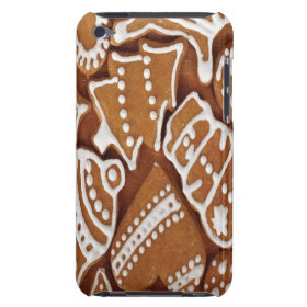 Yummy Christmas Holiday Gingerbread Cookies iPod Touch Cases