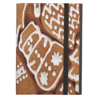 Yummy Christmas Holiday Gingerbread Cookies Cover For iPad Air