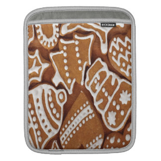 Yummy Christmas Holiday Gingerbread Cookies Sleeve For iPads