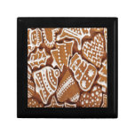 Yummy Christmas Holiday Gingerbread Cookies Jewelry Boxes