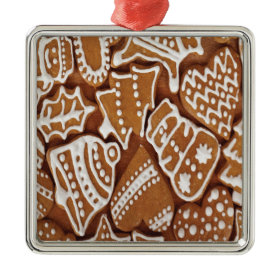 Yummy Christmas Holiday Gingerbread Cookies Christmas Ornament