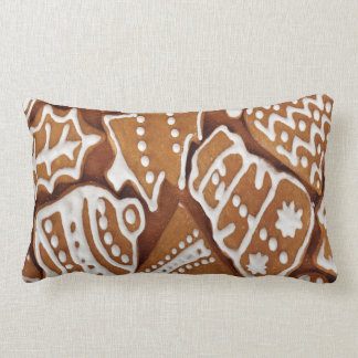 Yummy Christmas Holiday Gingerbread Cookies Pillows