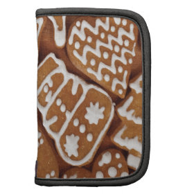 Yummy Christmas Holiday Gingerbread Cookies Folio Planners