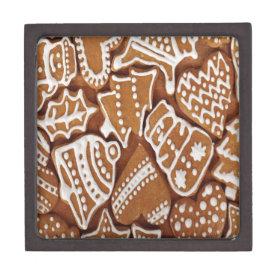 Yummy Christmas Holiday Gingerbread Cookies Premium Gift Box