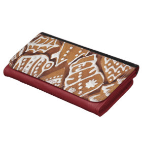 Yummy Christmas Holiday Gingerbread Cookies Wallets