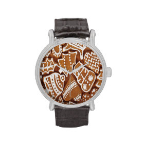 Yummy Christmas Holiday Gingerbread Cookies Watch