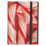 Yummy Christmas Holiday Peppermint Candy Canes Case For iPad Air