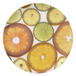 yummy citrus plate