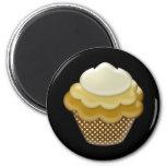 yummy coffee cupcake refrigerator magnet