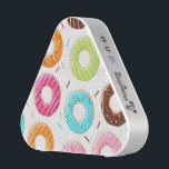 """Yummy colorful sprinkles donuts toppings pattern speaker<br><div class=""""desc"""">Tasty bright and colorful sprinkles donuts toppings pattern for bakery donuts shops and people who just can&#39;t get enough of donuts.</div>"""