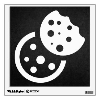 Yummy Cookies Pictogram Room Decal
