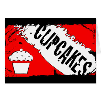 yummy crumbs cupcakes card