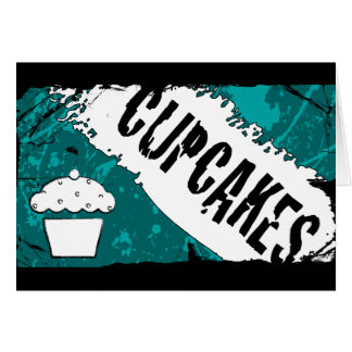 yummy crumbs cupcakes card