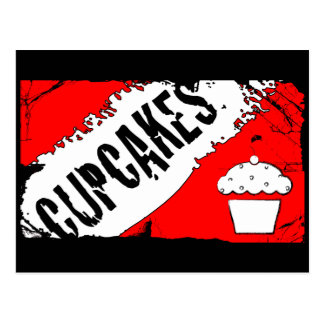 yummy crumbs cupcakes postcard