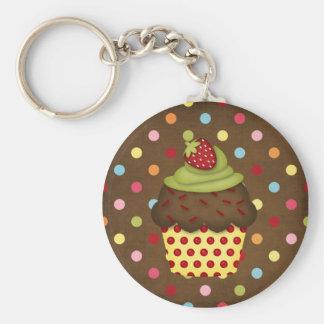 yummy cupcake keychains