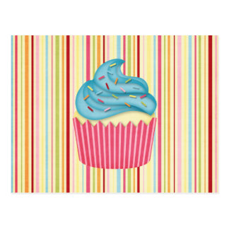 yummy cupcake post card