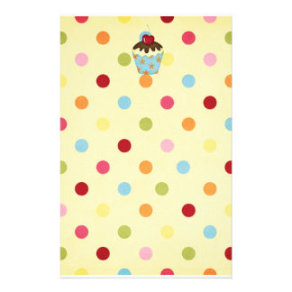 yummy cupcake stationery