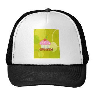 Yummy Cupcake Sweet Yellow Color Trucker Hat