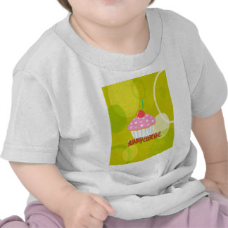 Yummy Cupcake Sweet Yellow Color Tshirts